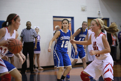 CHA Girls vs Hinton - December 7, 2012