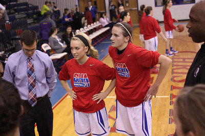 CHA Girls vs Lincoln Christian - January 18, 2013