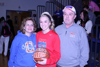 Maclayn Massey 1000 Point Basketball Award - January 18, 2013
