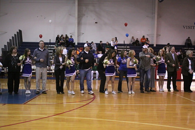 Senior Night - February 12, 2013