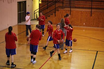 CHA Girls at Hulbert (Hulbert, OK) - February 26, 2009