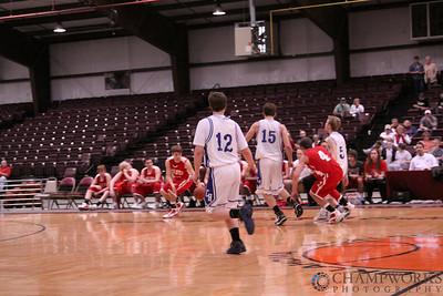CHA Varsity Boys vs. Davis - March 5, 2010