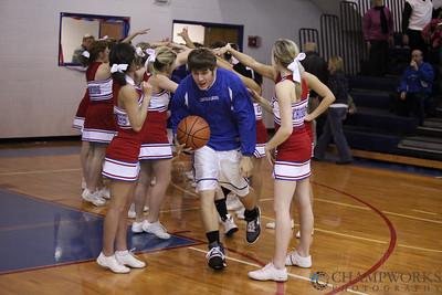 CHA Varsity Boys vs Liberty Christian - February 9, 2010