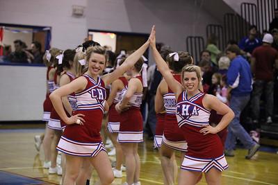CHA Varsity Boys vs. Mount St. Mary's - February 12, 2010