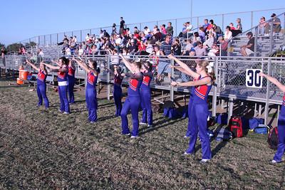 CHA JH Cheerleaders at Casady - October 22, 2012