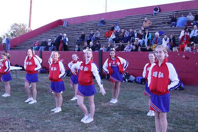 CHA JH Cheerleaders at Crooked Oak - October 29, 2012