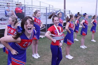 CHA JH Cheerleaders vs Little Axe - October 1, 2012