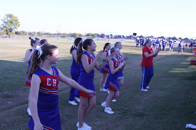 CHA JH Cheerleaders vs OCS - October 15, 2012