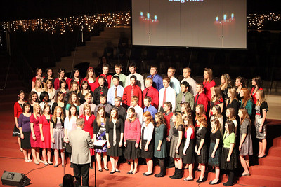 CHA Choir Christmas Dinner and Program - December 8, 2009