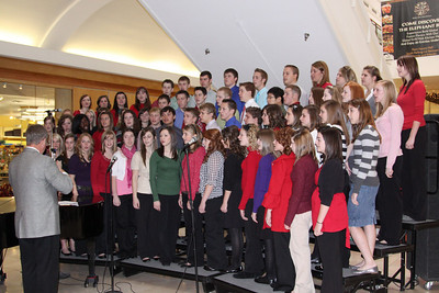 CHA Choir at Penn Square - December 7, 2009