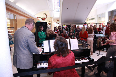 CHA Choir at Penn Square Mall - December 7, 2010
