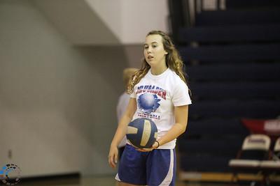CHA 9th Grade Volleyball vs Casady - September 28, 2010