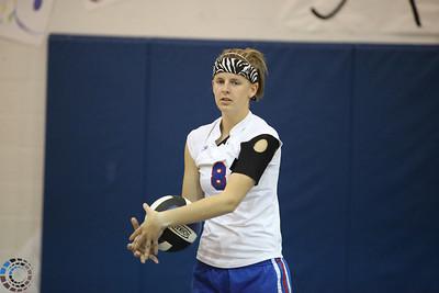 CHA Varsity Volleyball vs Casady - September 28, 2010