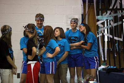 CHA Volleyball Senior Night - September 28, 2010