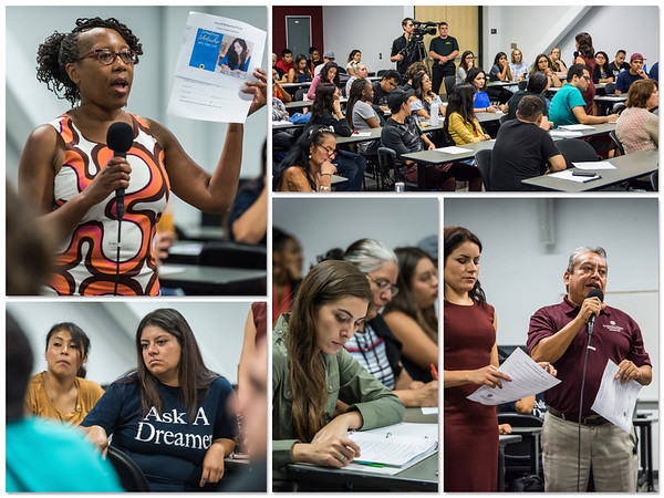CHAFFEY COLLEGE DACA MEETING ON CAMPUS SEPT 13TH 2017