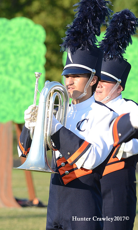 9.23.2017 Chapman Band Competition Boiling Springs Competition