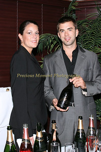 IMG_0538 Jill Petric & Clement Reid with Chandon
