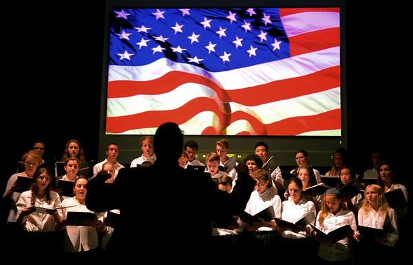 PHOTOS: 9/11 Memorial Concert and Vigil at Wissahickon High School