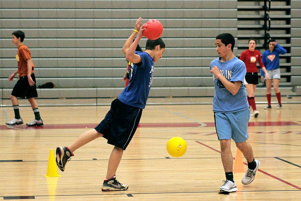 UD students play dodgeball to help Japan