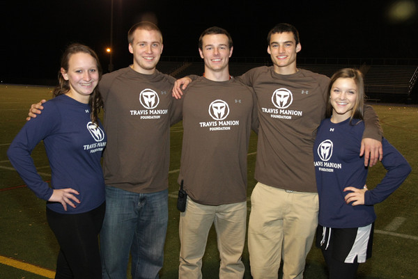 Wissahickon touch football benefits Manion Foundation