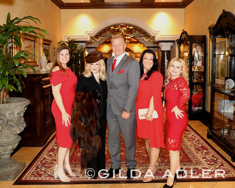 Lorena Ray, Phillys Parrish, Brad Benter, Teresa Castiglione, and Amanda Gray