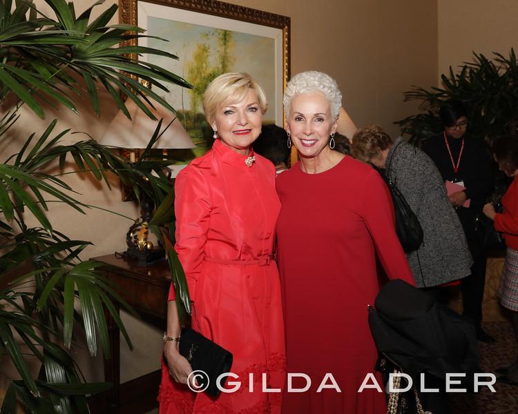 Joye  Blount and Mary Drake