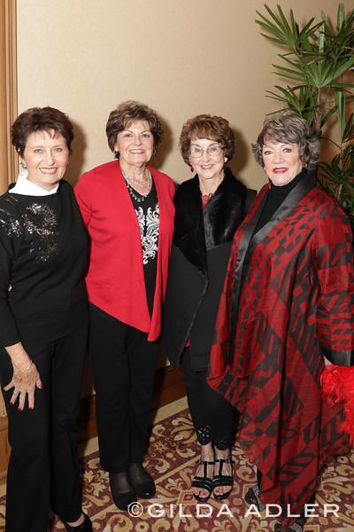 Joyce Buttler, Cheryl Thomson, Judy Clark, Marlene Hopkins