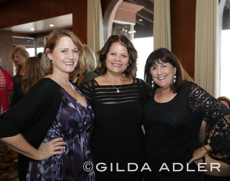 CHRISTINA JORDAN, LYNNE DOYLE AND NANCIE GELLER