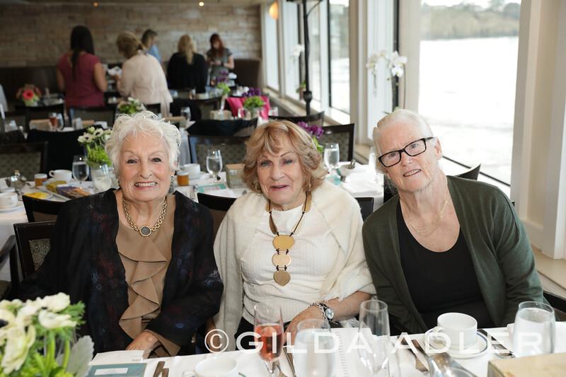 Gloria Melville, Mary thom, Maureen Knight