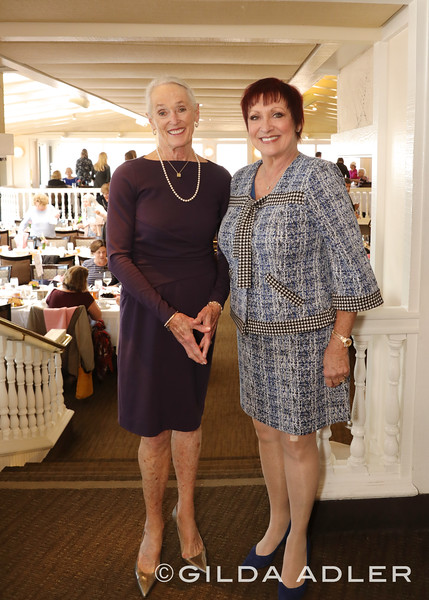 MAUREEN KING AND TONI PETRUZZO (SMSC BOARD PRESIDENT)