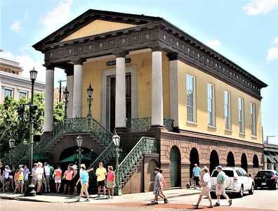 Market Hall is now home to the Confederate Museum.