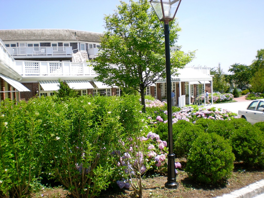 Chatham Bars Inn Grounds around the Hotel on Cape Cod