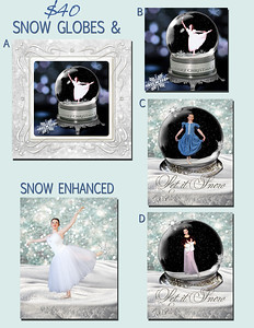 4 - SNOW GLOBES & SNOW ENHANCED