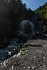 Waterfall in Gasterntal valley