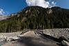 Bridge over Kander river in Gasterntal valley
