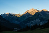 Sunset photos near Oeschinensee (on the road from cable car to hotel)