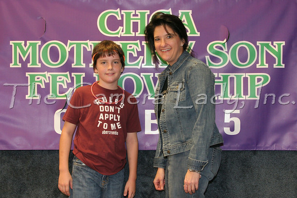 CHCA Mother Son Fellowship 10-5-06