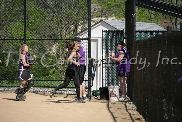 CHCA 2007 Girls Varsity Softball vs Mariemont 5.07