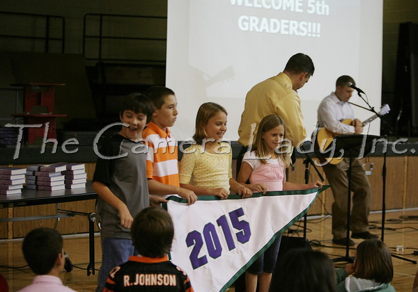 CHCA 2007 MS 5th Grade Welcome Chapel 8.24