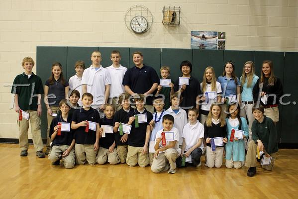 CHCA 2008 MS Math Olympics 04.04