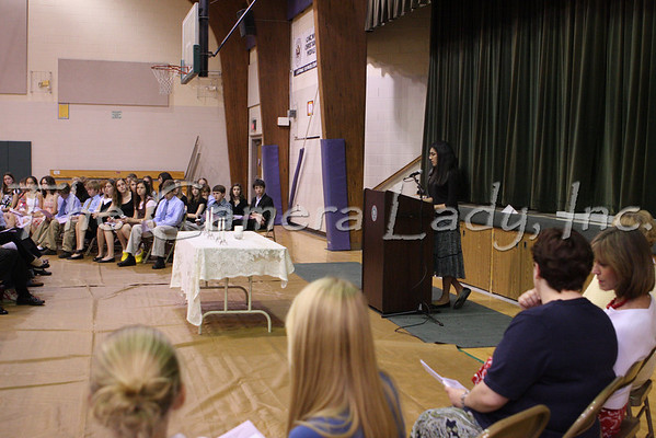 CHCA 2008 MS NJHS Induction 05.13