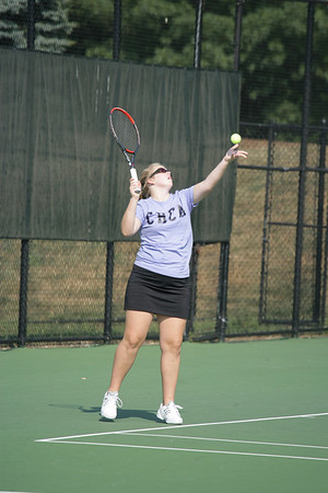 CHCA 2007 Girls JV Tennis 8-29