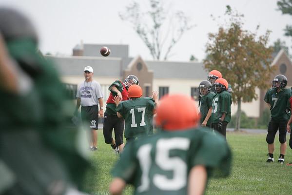 CHCA 2007 MS Football Practice