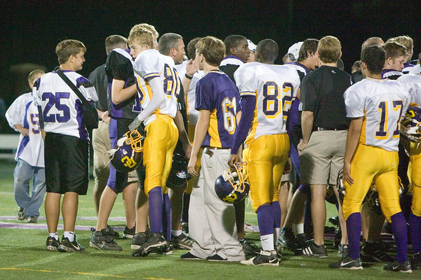 CHCA 2007 Varsity Football vs Dayton Christian 9.21
