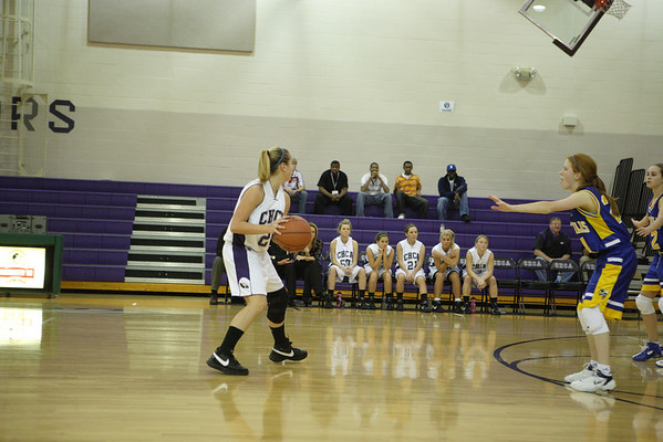 CHCA 2008 Girls JV Basketball
