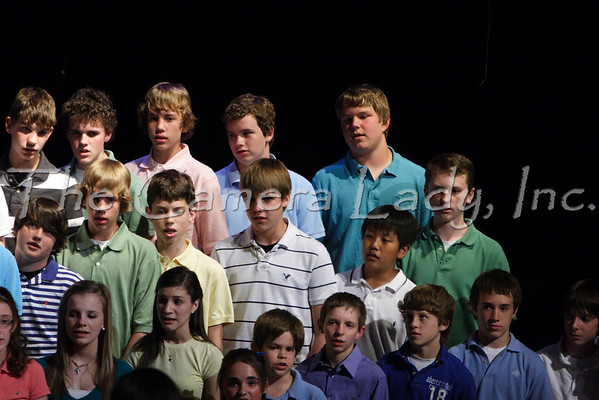 CHCA 2009 MS Spring Choral Concert 05.12