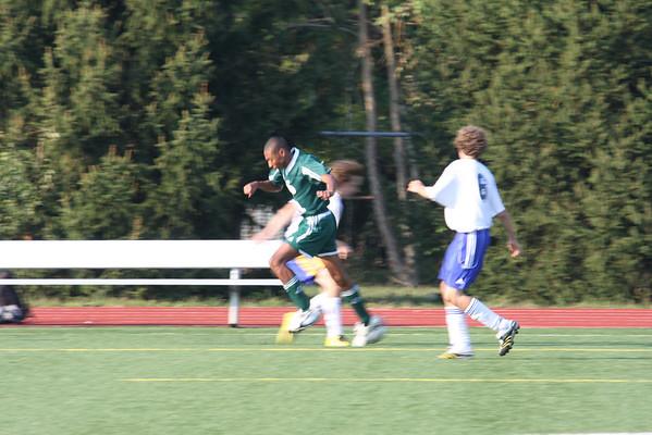 CHCA 2008 Boys JV Soccer vs 7-Hills 9.22