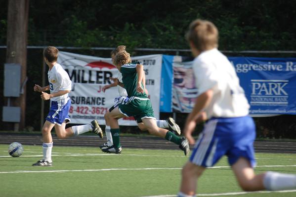 CHCA 2008 Boys JV Soccer vs Mariemont 9.20