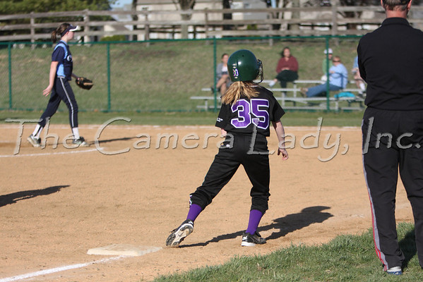 CHCA 2009 MS Softball 04.01