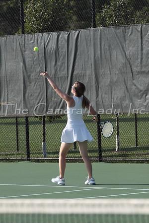 CHCA 2009 Girls Varsity Tennis 09.22